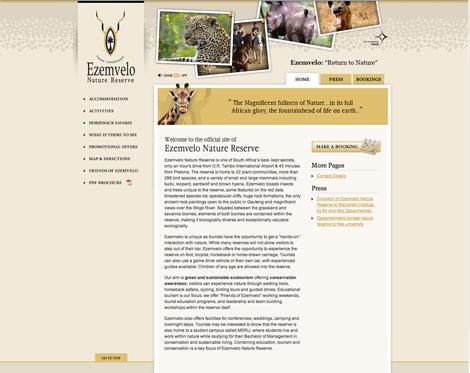 Ezemvelo-website